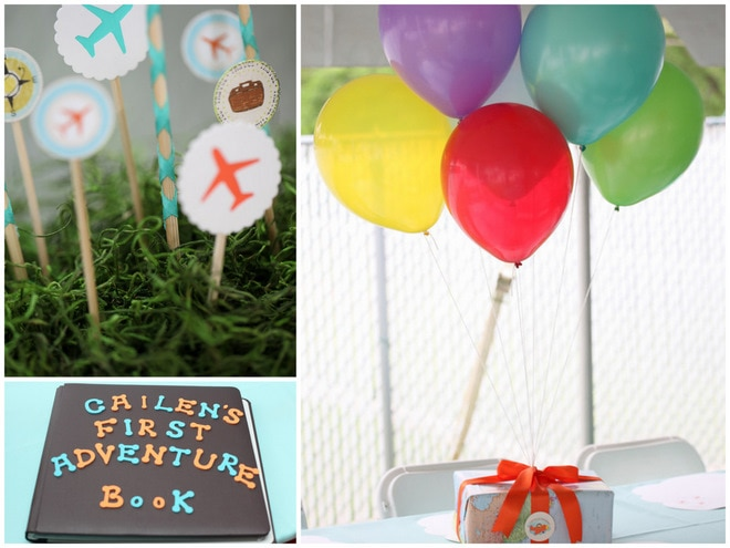 UP Inspired 1st Birthday!