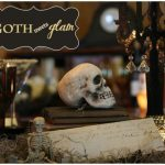 Vintage Goth meets Glam Halloween Party!