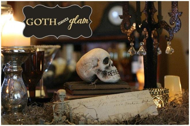 Vintage Goth Glam Halloween 2