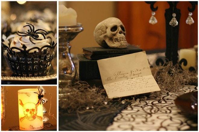Vintage Goth Glam Halloween 4