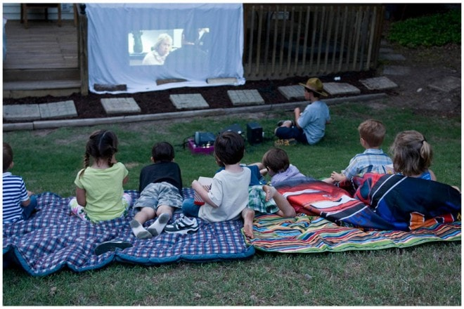 boy's camp out themed party pictures 8