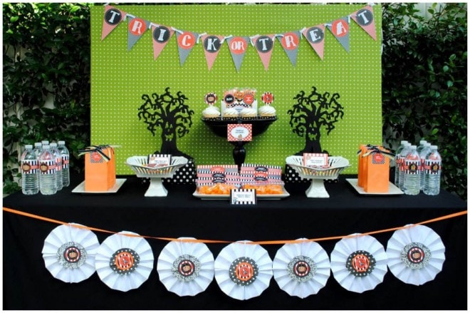 budget friendly diy halloween party picture