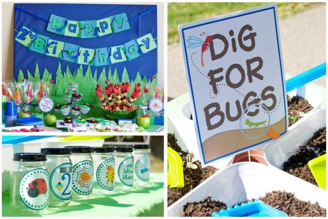 Bug Themed 2nd Birthday Party!