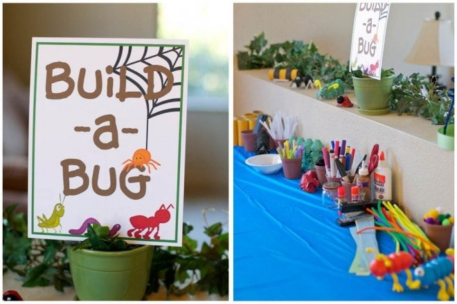 bug 2nd birthday party decorations picture 2