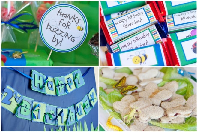 bug 2nd birthday party decorations picture 7