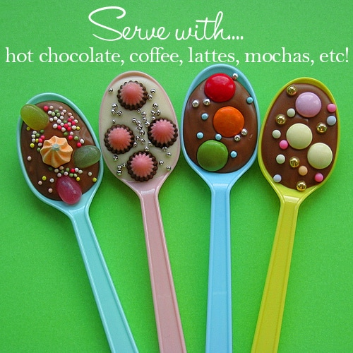 chocolate party spoons 2