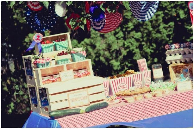 Country Fair Birthday Party