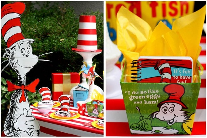 Dr. Seuss Birthday Party on a Budget!