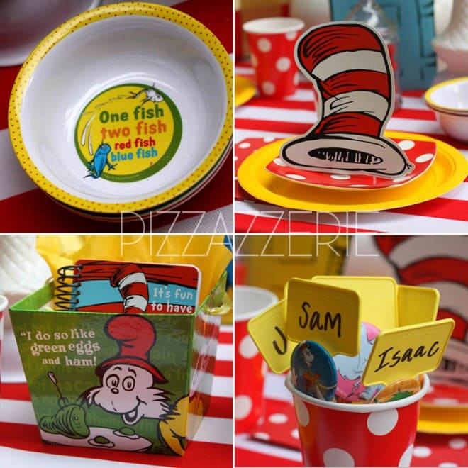 dr seuss birthday party decorations