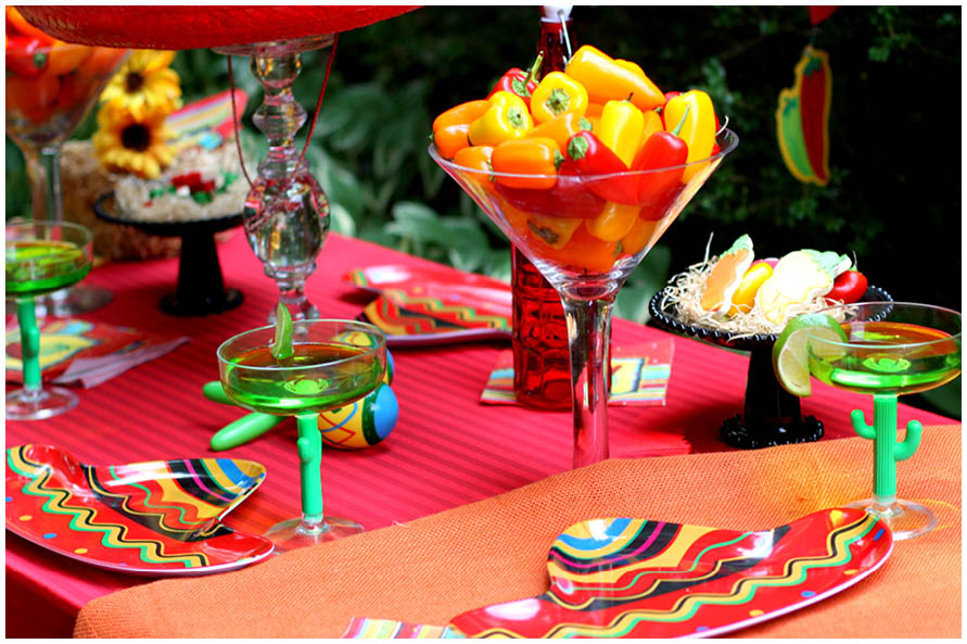 fiesta theme party host a mexican pizzazzerie 30921
