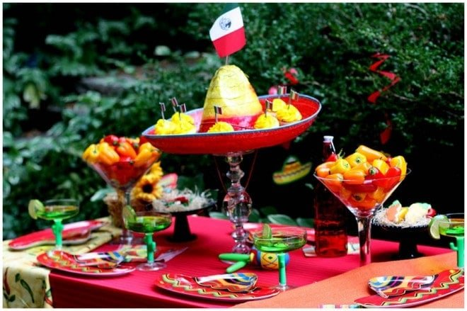 Mexican Themed Party Table