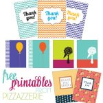 Free Stationery + Thank-You Card Printables