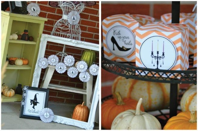 girls' halloween bewitching hour party 3