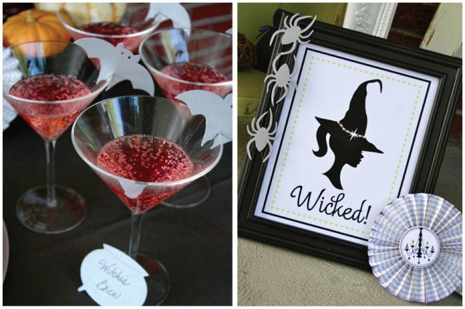 girls' halloween bewitching hour party 5