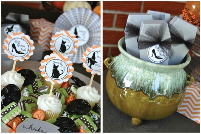 girls' halloween bewitching hour party 6