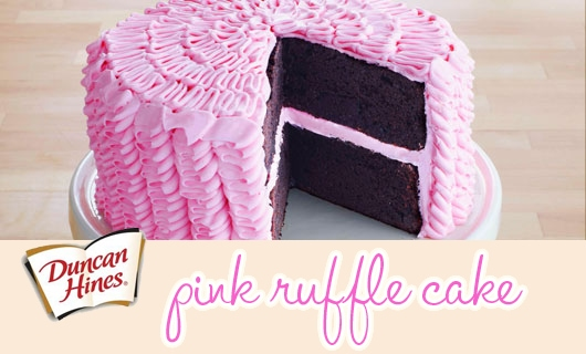 Recipe: Ruffle Birthday Cake!