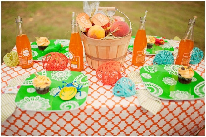 james giant peach party decoration
