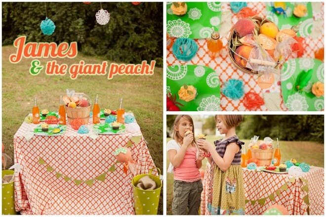 james giant peach party decoration 4