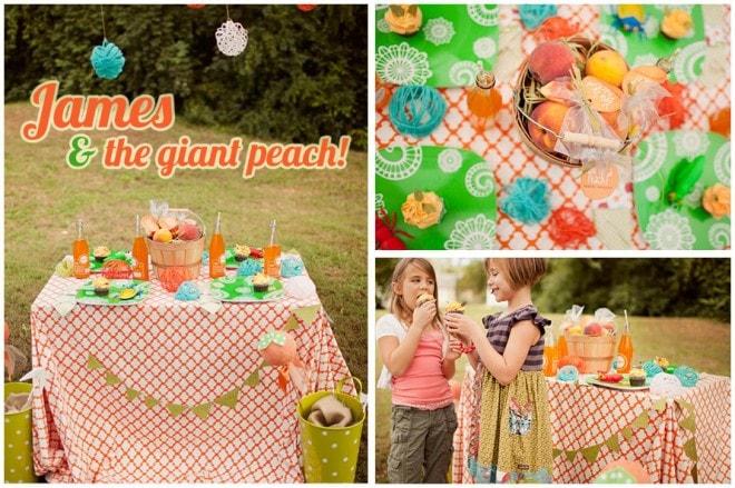 james giant peach party decoration 4