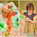 james giant peach party decoration