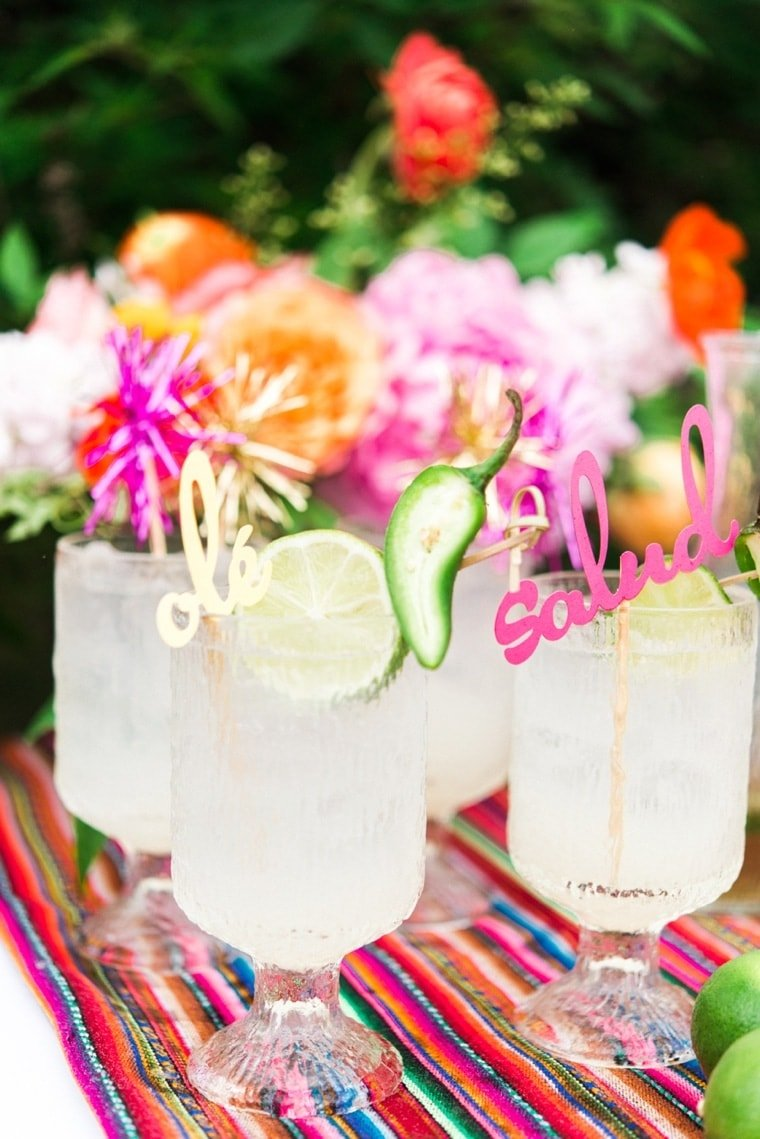 Mexican Themed Party Drinks
