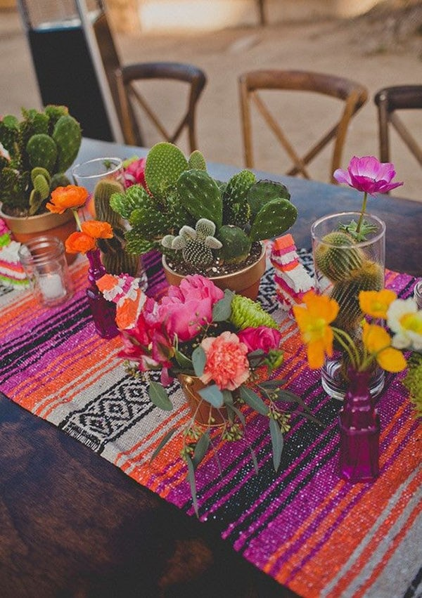 Mexican Themed Party Tablescape