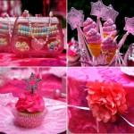 pink princess birthday party 1