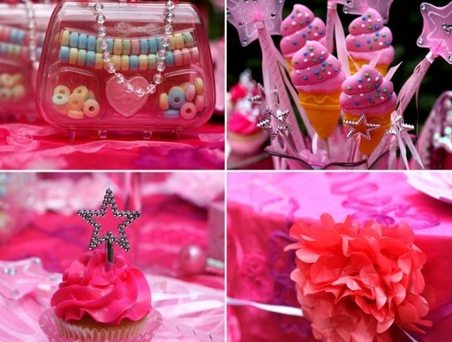 Pink Sparkle Princess Birthday Party