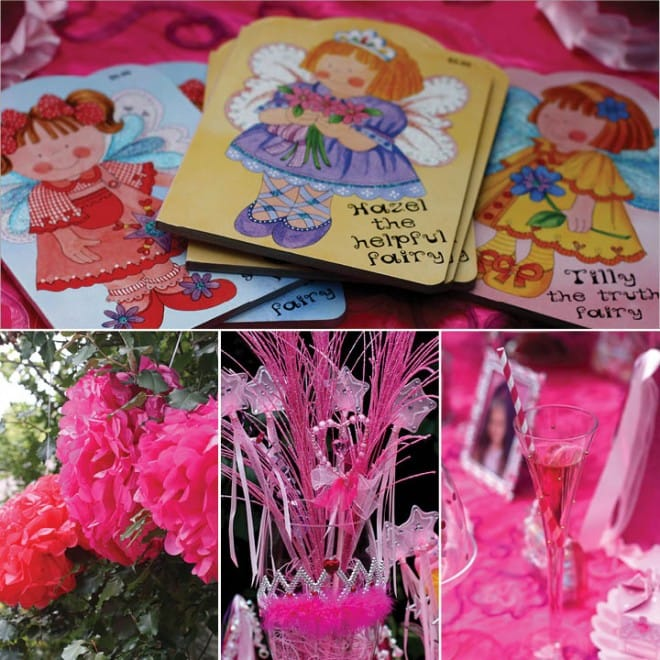 pink princess birthday party 2