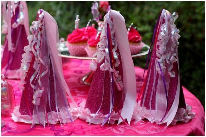 princess birthday party table 3