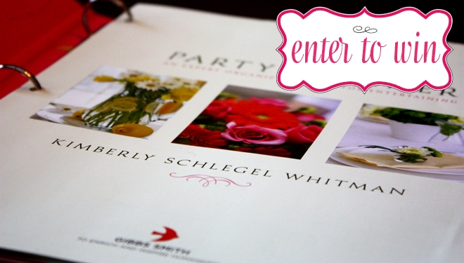 {Giveaway} The Party Planner by Kimberly Schlegel Whitman