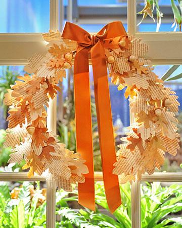 martha stewart halloween wreath