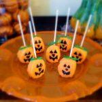 Marshmallow Pumpkin Pops