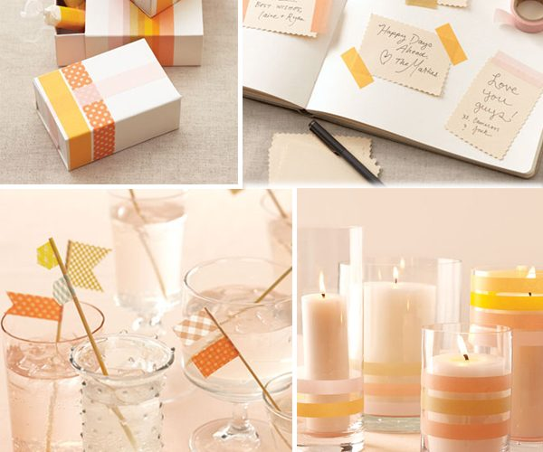{DIY} Crafting with Washi Tape