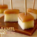 caramel apple bites