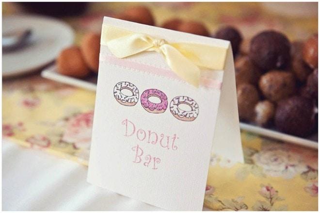 donut baby shower