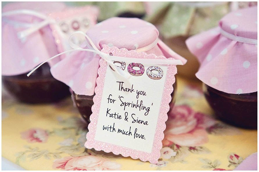 Donut baby shower pizzazzerie donut baby shower favors negle Images