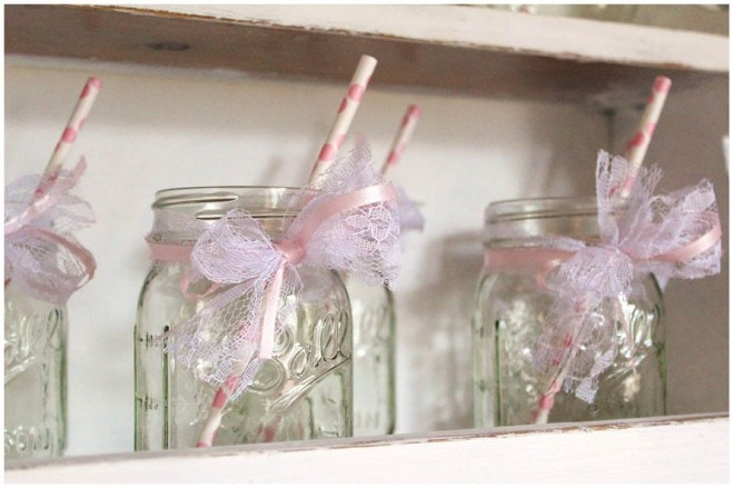 mason jar baby shower