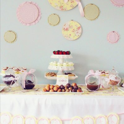 donut baby shower