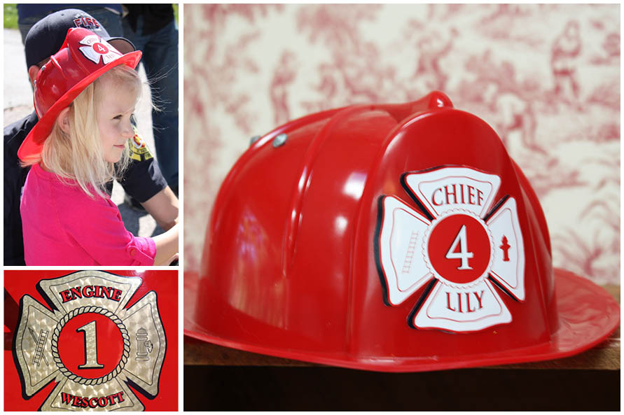 Girl S Firetruck 4th Birthday Party Pizzazzerie