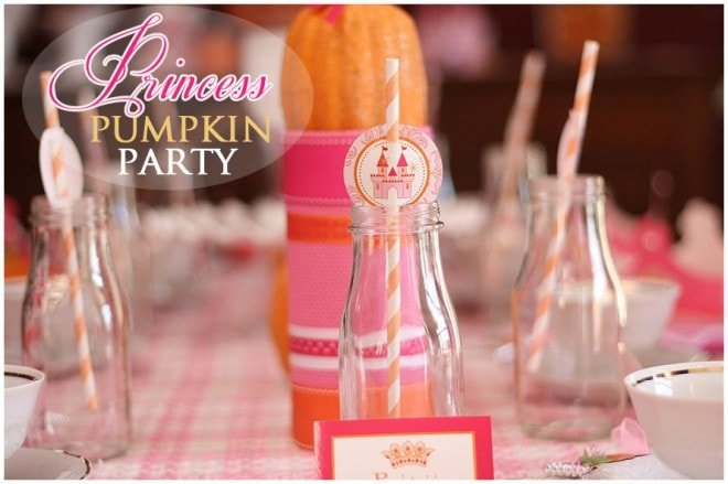 Host a Princess Pumpkin Tea Party!
