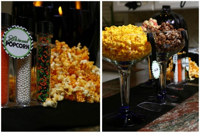 popcorn bar