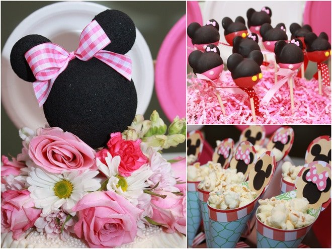 A Cute Minnie Mouse Picnic Party