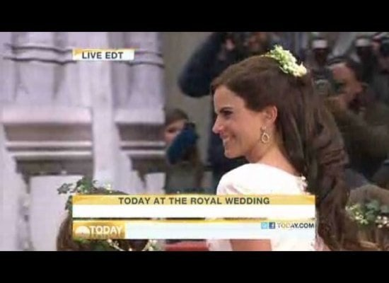 royal wedding pipa on today show