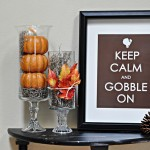 Free Thanksgiving version Keep Calm and Carry On printable