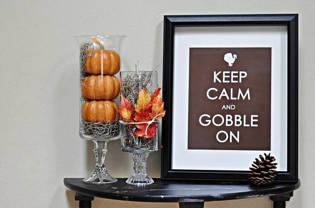 Free Fall & Thanksgiving Printables!