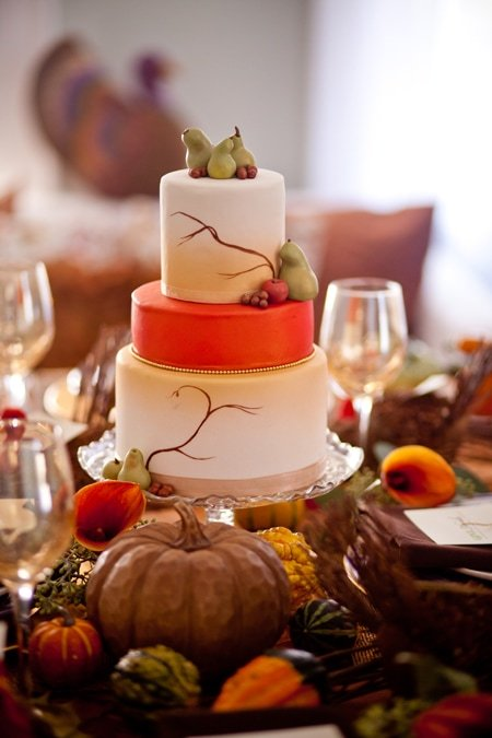 thanksgiving styled tablescape shoot