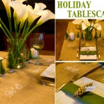 DIY Holiday Tablescape with Martha Stewart Crafts