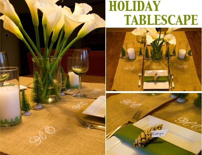 DIY Holiday Tablescape with Martha Stewart Crafts