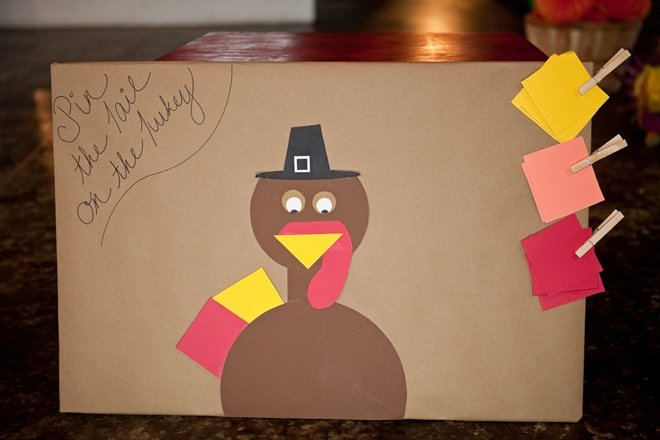 pin the tail on the turkey